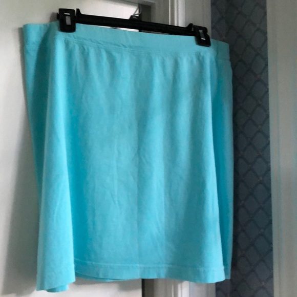fresh produce Dresses & Skirts - Light aqua featherweight skirt.